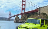 Private fully guided tours in open air Jeeps are the perfect way to explore San Francisco