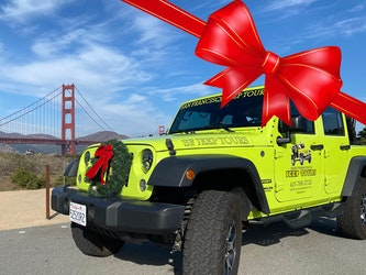 Gift Certificates San Francisco Jeep Tours on Sale